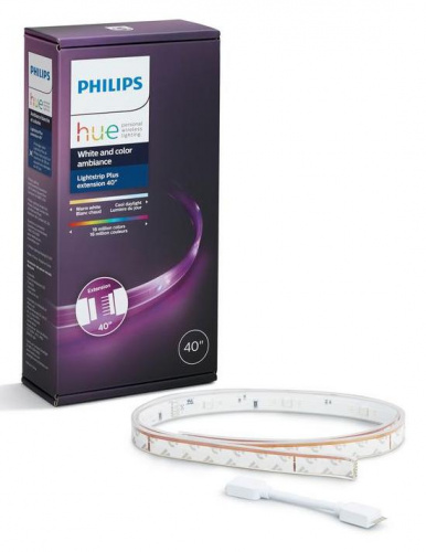 Умная светодиодная лента Philips Hue White and Color Ambiance LightStrips Home 1 метр из каталога интернет-магазина MaxHall