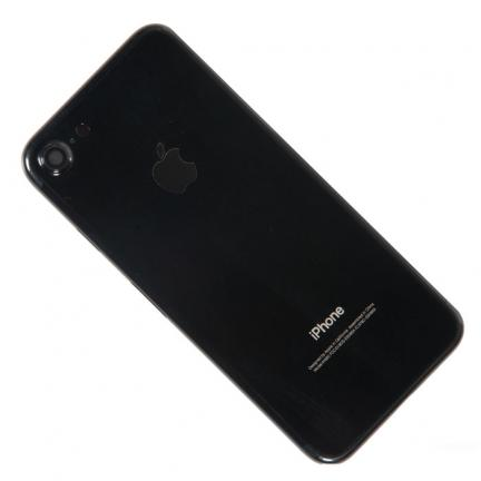 Корпус для Apple iPhone 7 Jet Black в сборе для телефонов
