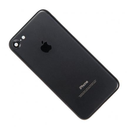 Корпус для Apple iPhone 7 Black в сборе для телефонов