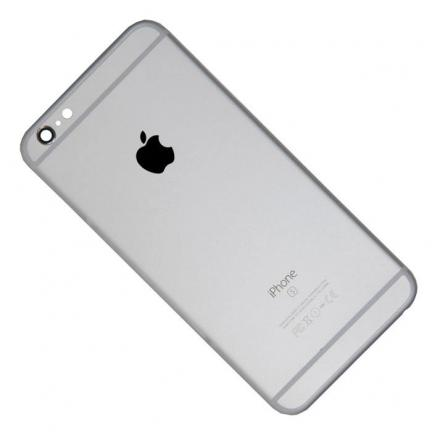 Корпус для Apple iPhone 6S Plus, silver  в сборе для телефонов