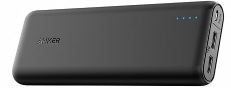 Внешний аккумулятор Anker PowerCore External Battery 20100mAh Black Offline Packaging V3